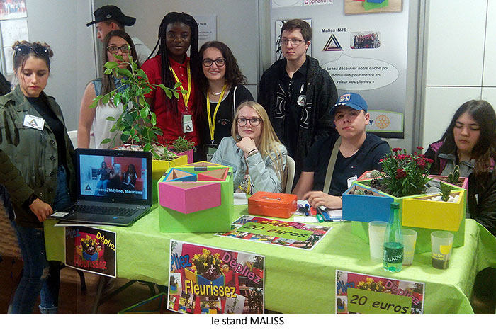 Le stand Maliss