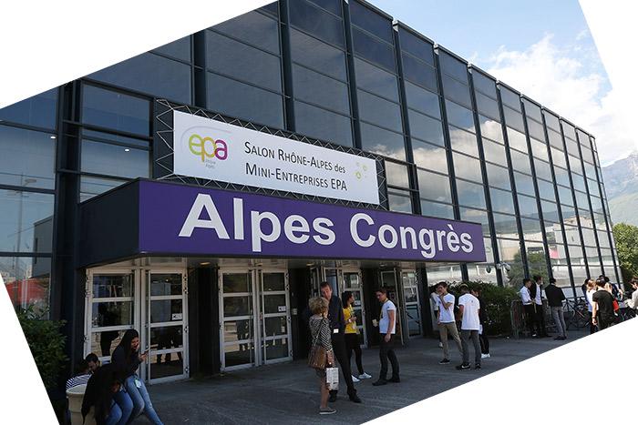 Le salon Rhône-Alpes des mini-entreprises EPA à Grenoble