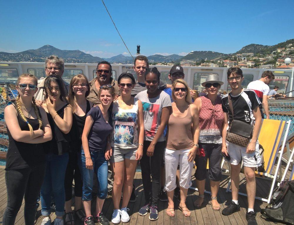 Collégiens et lycéens en voyage de fin d'année