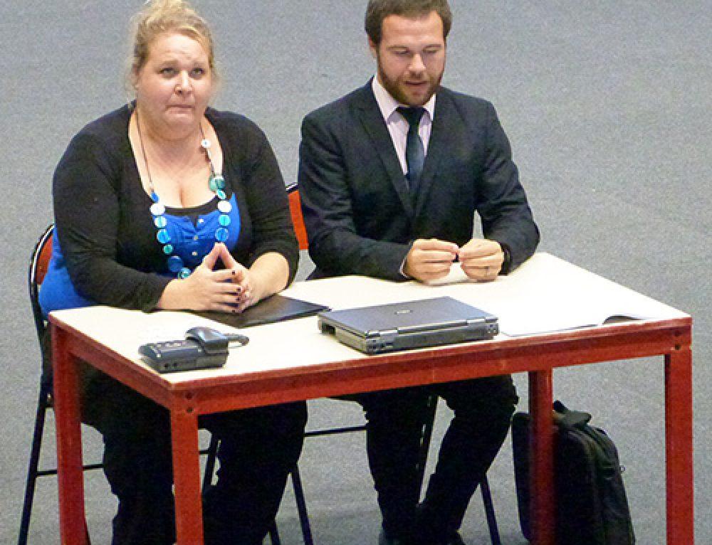 Le spectacle «Parle plus fort» présenté à l'INJS de Chambéry