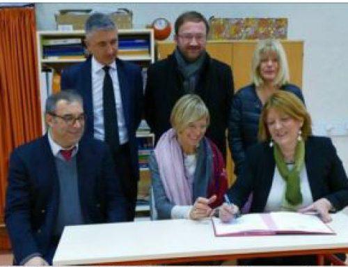 Inauguration de l'extension de l'école maternelle de la Forgerie à Cognin