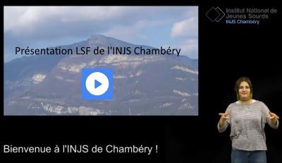 Présentation LSF INJS Chambéry