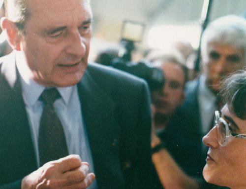 Quand Jacques Chirac visitait l'INJS de Chambéry le 5 mai 1995